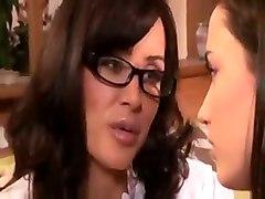 lesbian busty brunette tits toy fingering lisa geo