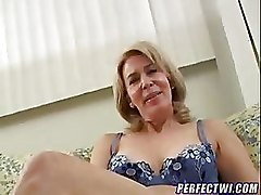 Mature Moms and Boys older riding