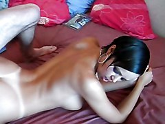 Anal Anal Masturbation Black-haired Blowjob Caucasian Couple Masturbation Oral Sex Swallow Toys Vaginal Sex