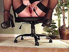Masturbation Office Secretaries Stockings