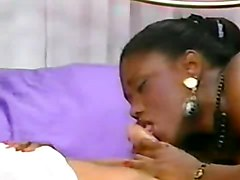 Black and Ebony Group Sex Vintage