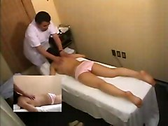 Asian Asian Couple Hospital Massage Shaved