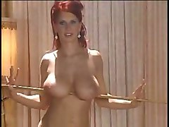 strip lapdance busty redhead sexy tits