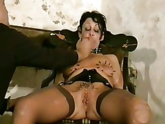 BDSM Torture crystel lei extreme extreme domination extreme pain needles