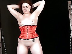 Amateur BDSM BDSM Whipping corporal punishment punished redhead spanked
