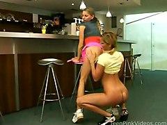 Teens Lesbian Blonde Blonde Caucasian Lesbian Licking Vagina Masturbation Oral Sex Position 69 Small Tits Teen Toys Vaginal Masturbation