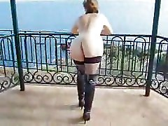 Amateur Public Nudity Stockings