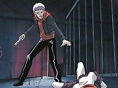Cartoons Hentai blowjob forced redhead rough