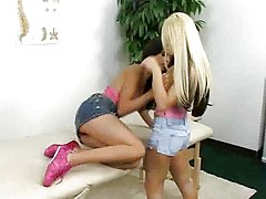 Lesbian Strap On Fucking