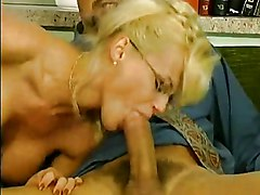 Anal Facials Blonde Double Penetration Anal Sex Blonde Blowjob Caucasian Cum Shot Double Penetration Facial German Glasses High Heels Oral Sex Pornstar Shaved Stockings Vaginal Sex Kelly Trump