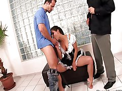 Blowjob Cumshot Group Gangbang Black-haired Blowjob Caucasian Cum Shot Deepthroat Gangbang Maid Oral Sex Pornstar Gigi Jenny Baby