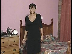 Black and Ebony Old+Young Spanking