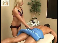 Blondes Handjobs Massage