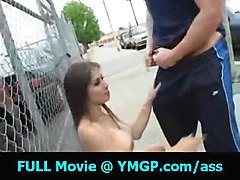 public exhibitionist flashing redhead pussyfucking hardcore blowjob