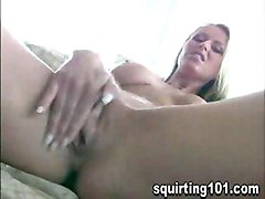 Squirting Masturbation Blonde Blonde Caucasian Masturbation Shaved Solo Girl Squirting Vaginal Masturbation