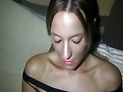 Amateur POV Amateur Brunette Caucasian Couple POV Shaved Vaginal Sex