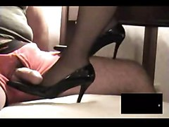 footjob stockings fetish
