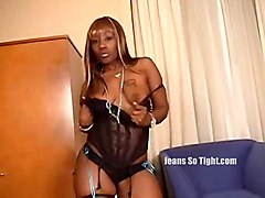 black ebony solo blackwoman teasing bigass softcore