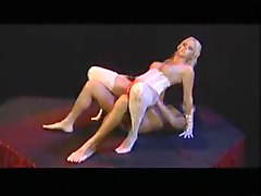 Nice blonde boned in dungeon