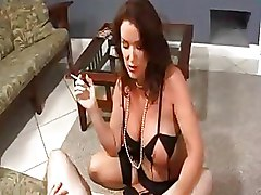 Big Tits Milf Smoking