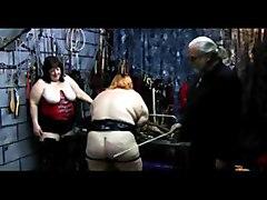 bondage bdsm fetish bbw spanking strapping paddling whipping fat obese group extreme