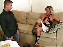 Mature Moms and Boys blonde blowjob older