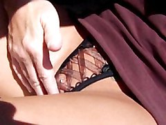 redhead  milf  tanned  big tits  car  outside  lick  car  beautiful tits  blowjob  cock ride Lindsey Lovehands