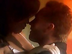 Bedroom Interracial blowjobs kissing