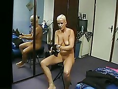 Bedroom Hidden Cams blonde solo
