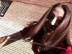 Dark Haired Veronica Jett Hammered Hard