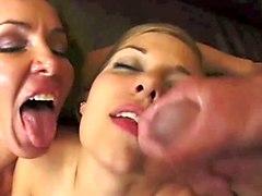 Facials MILFs Pornstars