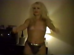 strip blonde hairy pussy amateur homemade
