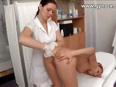 ass young nurse doctor orgasm speculum clinic electro enema gyno medical electric suppository