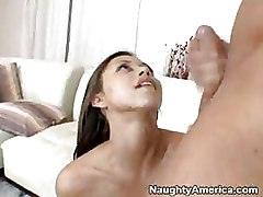 Asian Interracial milf suck dick riding cock sexy brunette
