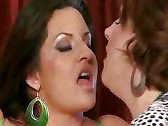 Mature Mega Big Tits Riding Threesome