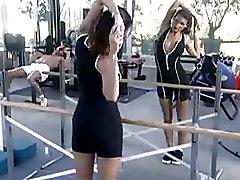 Gym Milf brunette