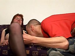 Matures Redheads Stockings