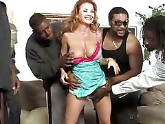 Big Tits Interracial Janet Mason Milf big cocks gangbang