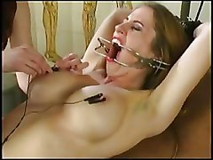 BDSM Electricity Torture Lezdom