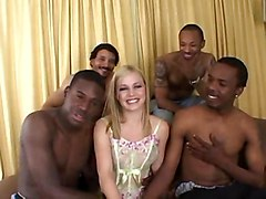 interracial orgy