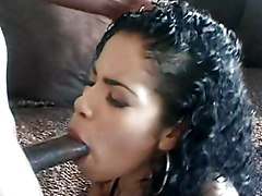 Anal Ebony Anal Sex Black-haired Blowjob Couple Ebony High Heels Oral Sex Piercings Stockings Tattoos Vaginal Sex