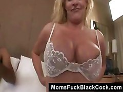 blonde mature tits milf facial cumshot interracial