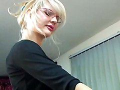 blonde blowjob doggystyle teacher blackcock interacial