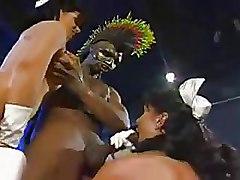 Big Cock Group Sex Interracial