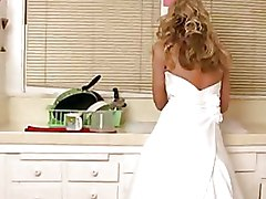 Brides Kissing blonde milf stockings