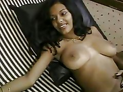 Big Cock Ebony amateur bedroom sex blowjob