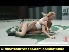anal lesbian bigtits domination strapon fight combat catfighter wresting
