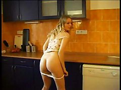 Sexy Shooting In The Kitchen