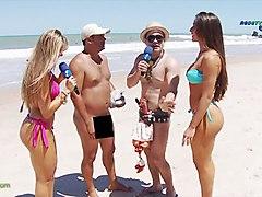Beach Funny Public Nudity