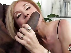 Interracial Mature Stockings ass boobs busty fucking